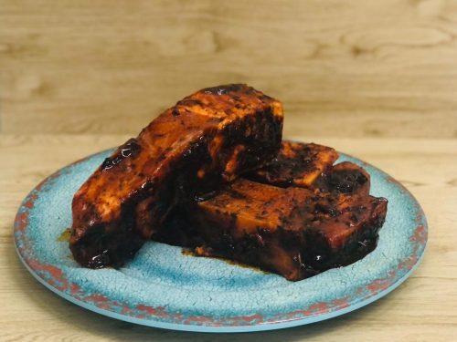 Jamaican jerk rib steak